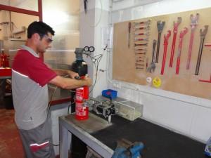 Instalaciones de Taller Extintores Nogueras ( Detalle)